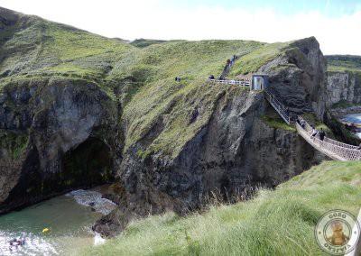 Cruzando el puente de vuelta