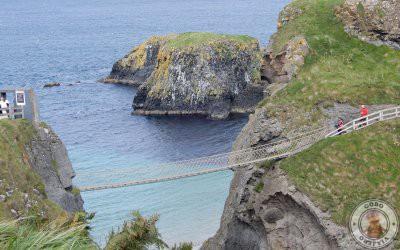 Carrick a Rede el puente colgante de Irlanda del Norte