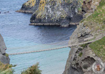¿Te atreves a cruzar el puente Carrick a Rede?