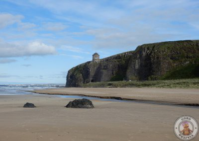 Mussenden Temple desde Downhill Beach