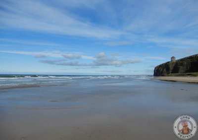 Downhill Beach y Mussenden Temple