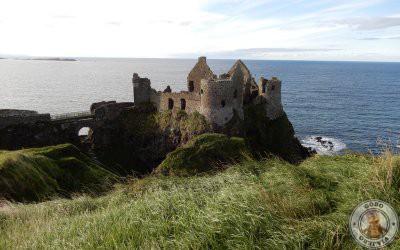 Castillo Dunluce en Irlanda del Norte