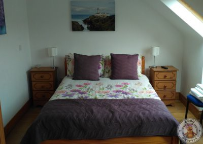 Habitación doble deluxe en el alojamiento en Slieve League House B&B