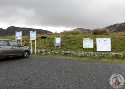 Parking superior de los acantilados
