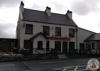 Pub The Rusty Mackerel cerca de acantilados Slieve League en Teelin