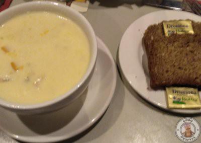 Sopa de marisco (Seafood Chowder)