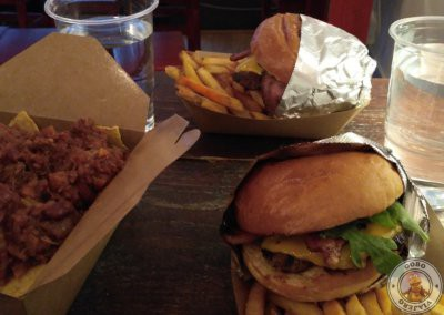 Hamburguesas en The Chili Shack