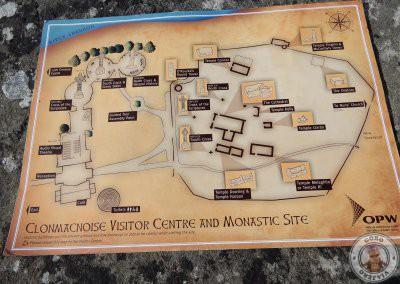 Plano de Clonmacnoise