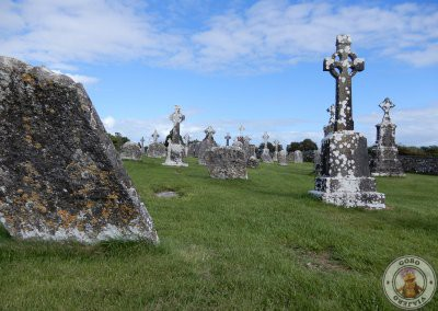 Tumbas en Clonmacnoise