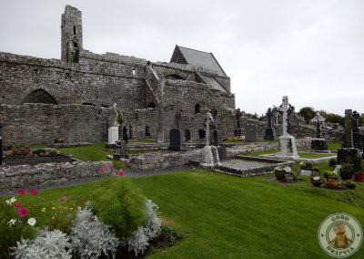 Abadía de Corcomroe en Irlanda