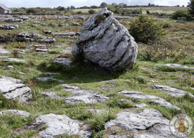 Alrededores del dolmen de Poulnabrone