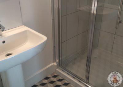 Baño privado en la habitación