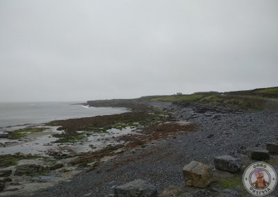 Carretera de la costa en Inishmore