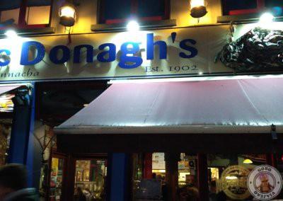 Cena en McDonagh's en Galway