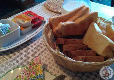 Con cualquier tipo de desayuno se incluía el pan tostado