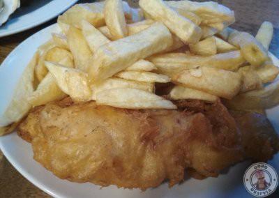 El mejor fish and chips de Galway