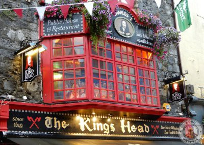 Fachada del pub The King's Head