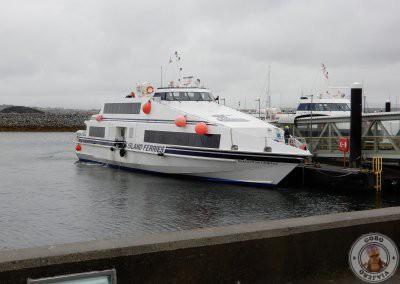 Ferry de la empresa Aran Island Ferries en el que fuimos a Inishmore