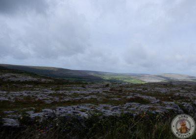 La carretera nos ofrecía estas vistas de la zona
