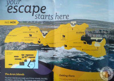 Mapa de Inishmore