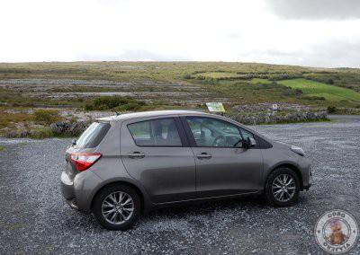 Nuestro coche para el road trip de Irlanda, información sobre el alquiler en otro post del blog