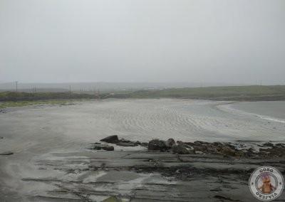 Playa en Inishmore cerca de Dun Aengus