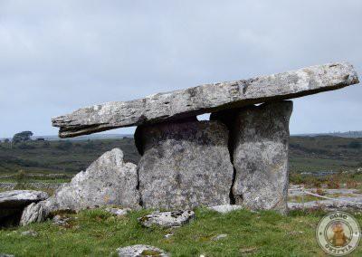 Poulnabrone Dolmen en Irlanda