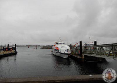 Puerto de Rossaveel cerca de Galway