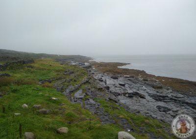 Punto de observación de la colonia de focas en Inishmore