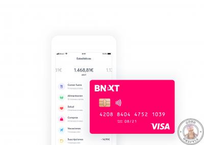 Bnext ofrece uno de los mejores cambios de divisa, el cambio VISA sin ningún tipo de comisión adicional