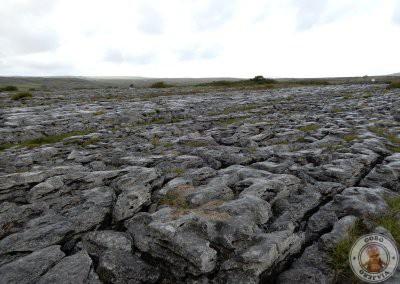 The Burren - Paisaje alrededor del dolmen de Poulnabrone