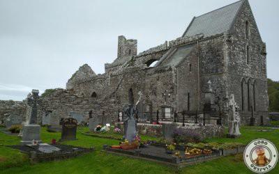 Visita a la Abadía de Corcomroe en Irlanda