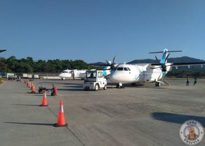 Vuelo directo al Nido con Airswift - Aeropuerto de El Nido