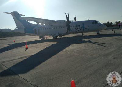 Avión de AirSwift