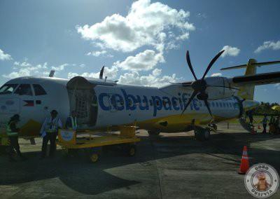Avión de Cebu Pacific