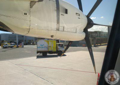 Aviones de hélices en vuelos internos en Filipinas