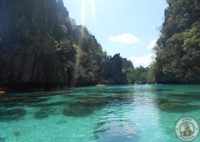 Big Lagoon en kayak