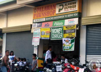 Casa de cambio en el Nido . Palawan Pawnshop El Nido 2