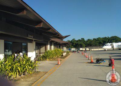 Edificio central del Aeropuerto de El Nido