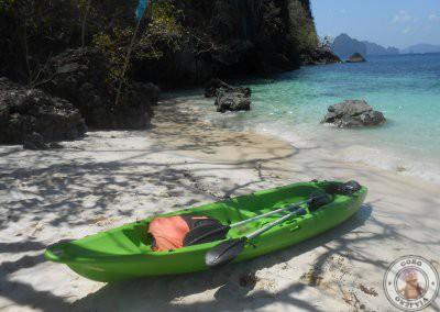 El Nido en kayak desde Corong Corong a Seven Commandos