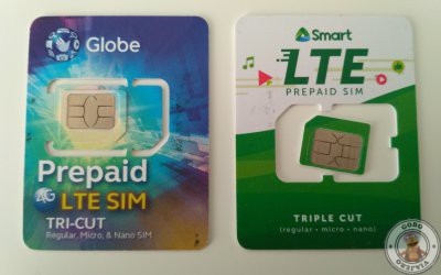 Internet en Filipinas. Globe y Smart