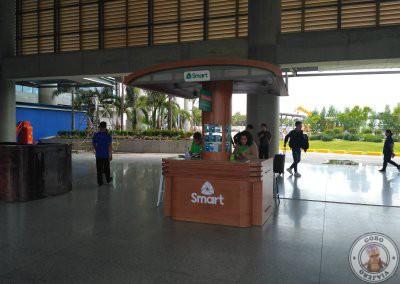 Mostrador SMART en el Aeropuerto de Cebú