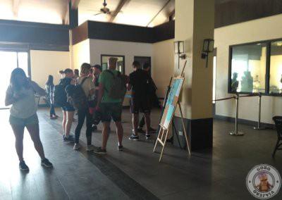Sala de espera en el Aeropuerto de El Nido