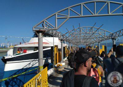 Acceso al ferry Oceanjet del trayecto de Bohol a Cebú