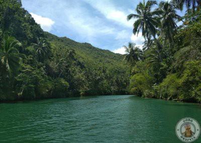 Comida en crucero por el río Loboc - Tercera parada del recorrido por Bohol