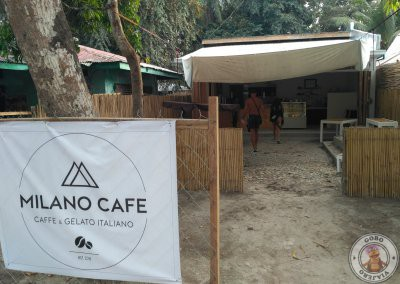 Donde comer en Port Barton - Milano Café