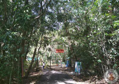Entrada al Santuario de Tarsiers de Corella