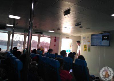 Interior Ferry Oceanjet de Bohol a Cebú