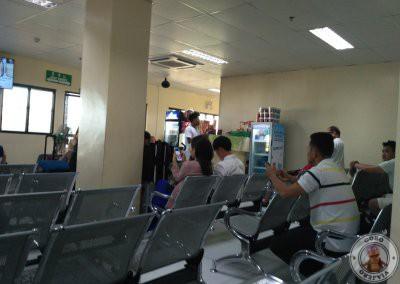 Terminal de ferry en el puerto de Tagbilaran - Bohol