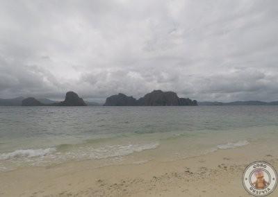 Vistas de las Isla desierta que visitamos